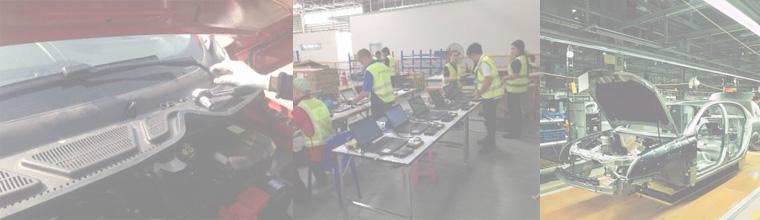 ホーム タイにおける不良品の修正や品質問題防止のための品質検査と